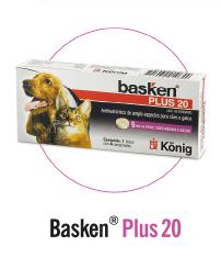 Basken Plus 20 - Antiparasitário para cães e gatos König