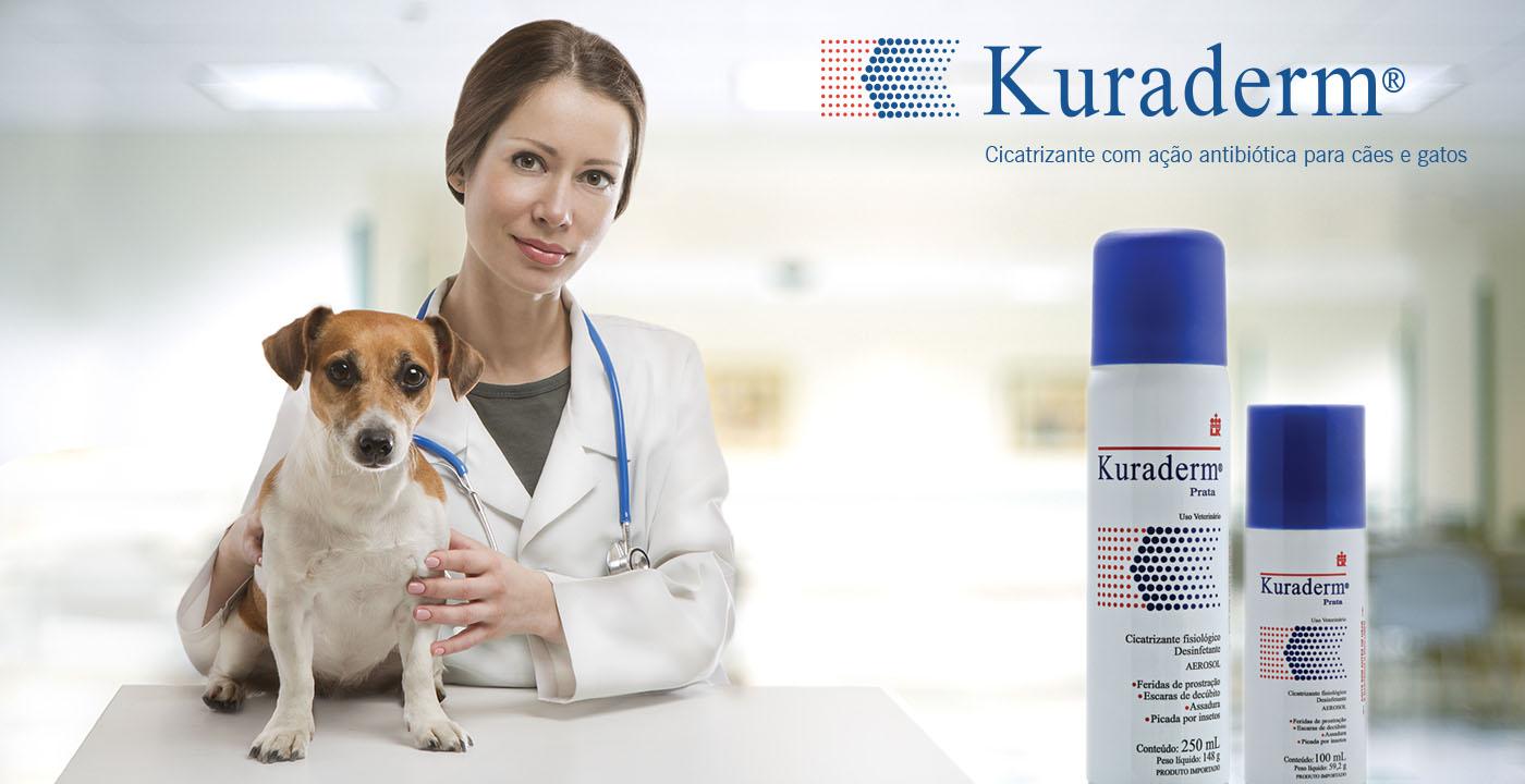 Kuraderm é a solução ideal para tratar cães e gatos