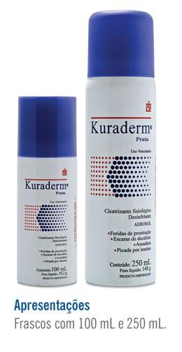 Kuraderm - Apresentações Frascos 100 mL e 250 mL