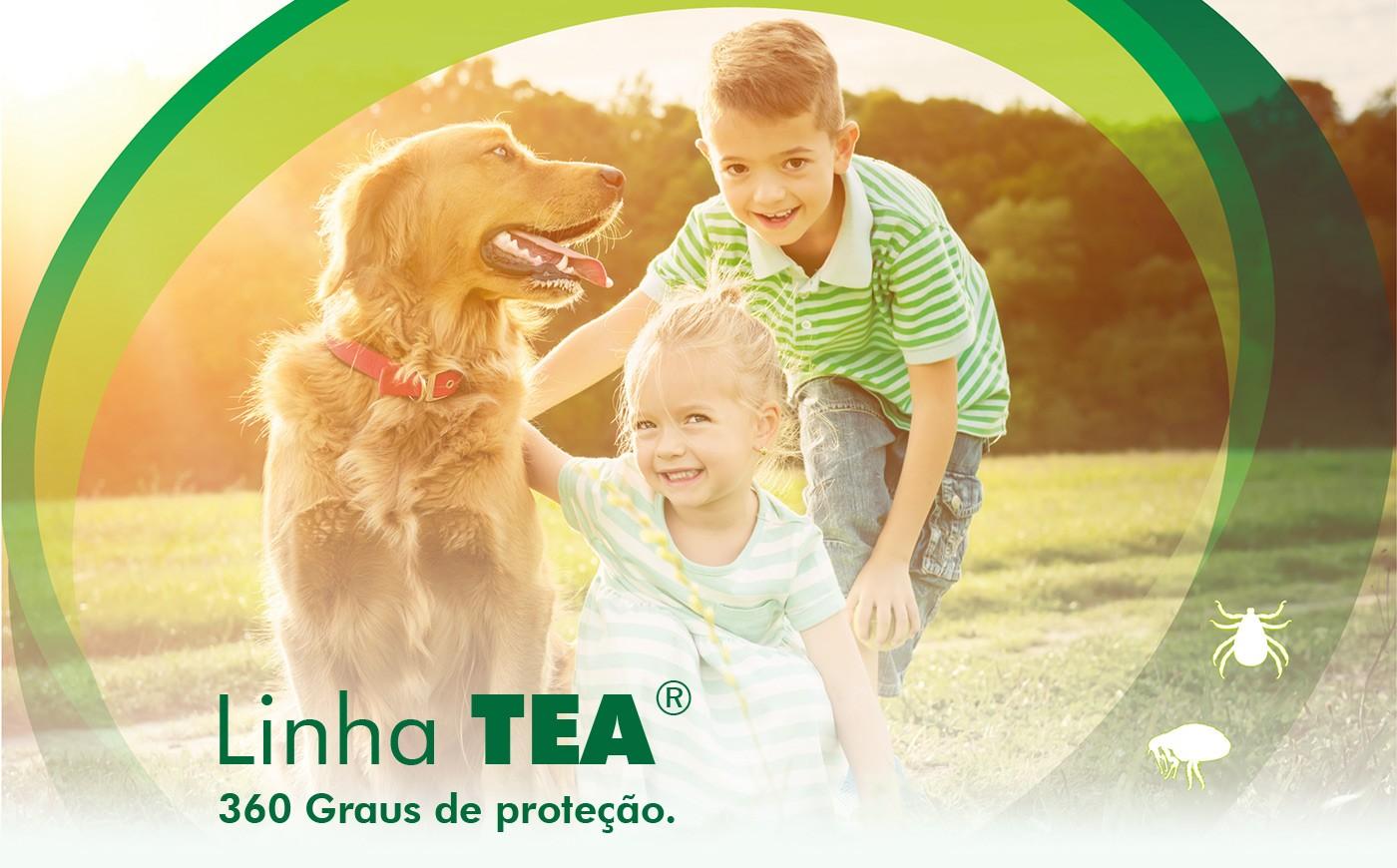 Linha TEA König | Antiparasitários externos para cães e gatos